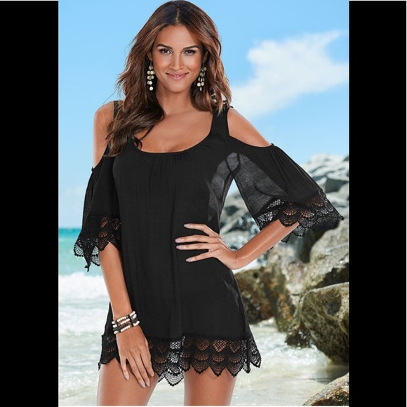 c5e2705837c3 Black Venus Bathing Suit Coverup M. M_5b1c345c7386bc47c7224320